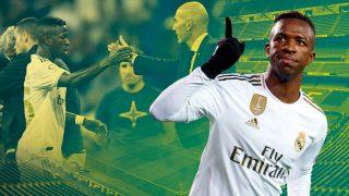 La mejor versión de Vinicius ha vuelto de la mano de Zidane.