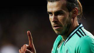 Bale vuelve al once contra la Real Sociedad.