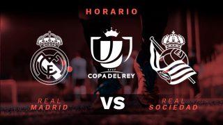 Copa del Rey 2019-2020: Real Sociedad – Real Madrid | Horario del partido de fútbol de Copa del Rey.