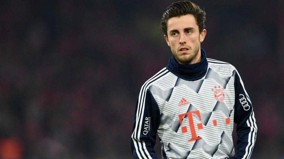 Odriozola, en un partido del Bayern. (AFP)