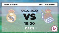 Real Madrid – Real Sociedad: cuartos de final de la Copa del Rey.
