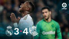 El Real Madrid cayó eliminado de la Copa del Rey tras perder contra la Real.