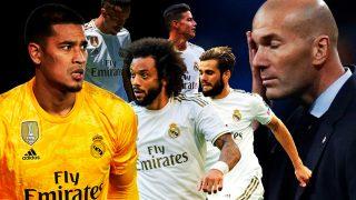 Zidane y otros señalados de la eliminación en Copa del Rey.