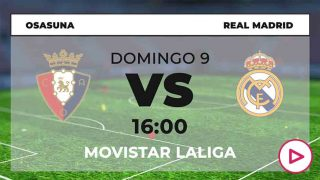 Osasuna Real Madrid horario