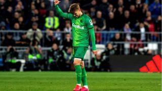 Martin Odegaard durante el partido de Copa del Rey ante el Real Madrid. (EFE)