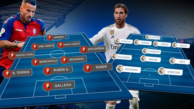 Osasuna – Real Madrid: una Liga para olvidar la Copa