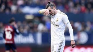 Bale, durante un partido con el Real Madrid. (Getty)