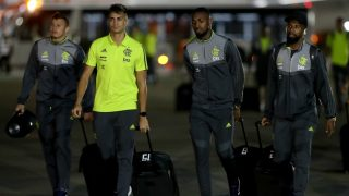 Reinier, en un viaje con el Flamengo (Getty).