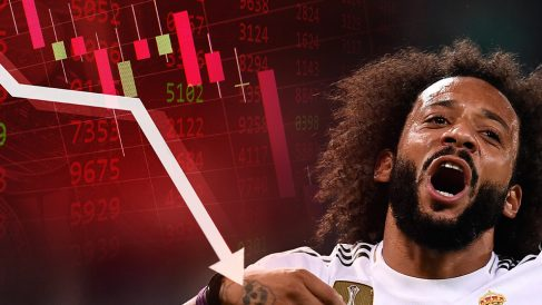 Marcelo está muy lejos de su nivel y su valor de mercado ha decrecido un 70%.