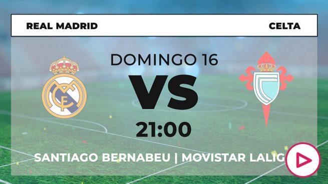 Real Madrid Celta horario