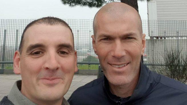 Zidane-selfie