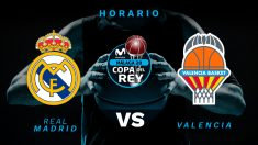 Real Madrid – Valencia Basket: semifinal de la Copa del Rey de baloncesto 2020