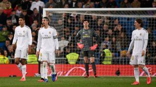 El Madrid tropezó ante el Celta. (AFP)
