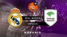Copa del Rey de Baloncesto 2020: Real Madrid – Unicaja | Horario de la final de la Copa del Rey de Baloncesto 2020.
