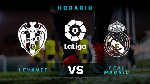 Levante – Real Madrid, jornada 25 de la Liga Santander
