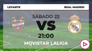 Levante – Real Madrid: jornada 25 de la Liga Santander.