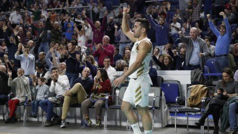 Campazzo, en un partido del Real Madrid. (ACB)