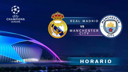 Champions League 2019-2020: Real Madrid – Manchester City | Horario del partido de fútbol de Champions League.
