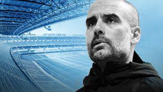 Guardiola, enemigo a las puertas en el Bernabéu.