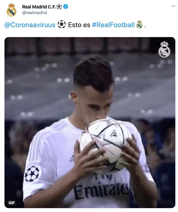 Lucas Vázquez, el coronavirus, Zidane…: así han troleado la cuenta oficial de Twitter del Real Madrid