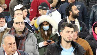 La crisis del coronavirus llegó al Santiago Bernabéu. (Foto: Enrique Falcón)