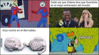 Los memes del choque de Champions entre Real Madrid y Manchester City.