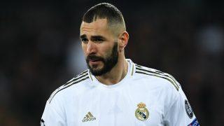 Karim Benzema, en un partido de esta temporada. (Getty)