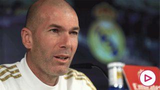 Zidane, en rueda de prensa (EFE)