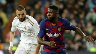 Real Madrid – Barcelona: Clásico de Liga Santander, en directo.