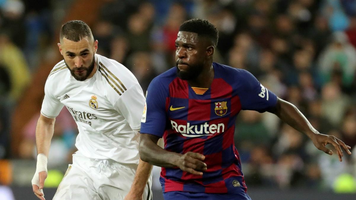 Real Madrid Barcelona Resultado Resumen Y Goles Del Clasico De Liga Santander 2 0