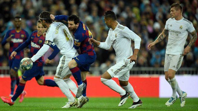 real madrid barcelona liga
