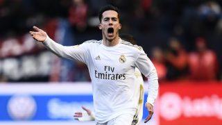 Lucas, durante un partido del Real Madrid. (Getty)