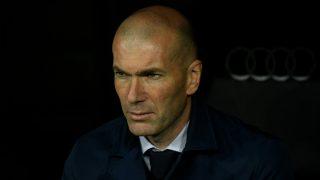 Zinedine Zidane, técnico del Real Madrid. (AFP)
