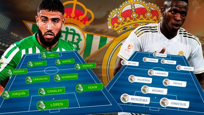 Betis – Real Madrid: primera final de Liga