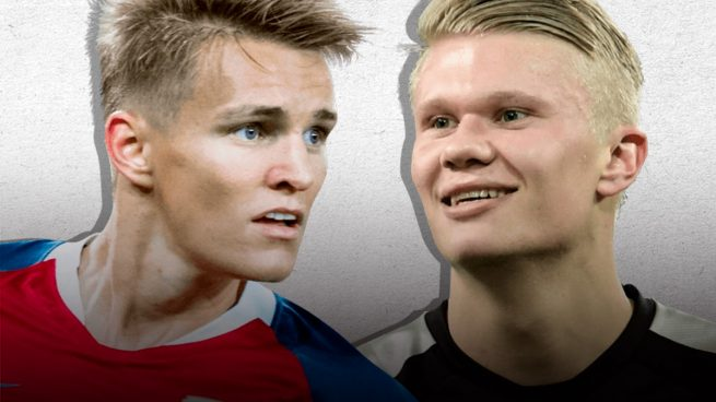 Odegaard es el gancho del Real Madrid para convencer a Haaland
