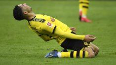 Achraf, durante un partido. (AFP)
