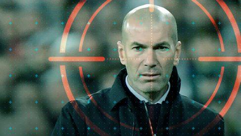 Zidane está en el punto de mira.