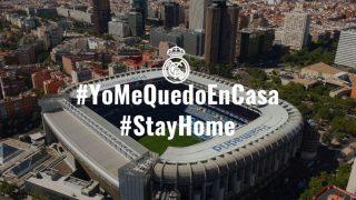 La foto compartida por el Real Madrid. (RealMadrid)