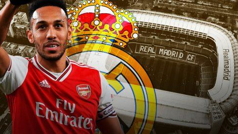 Aubameyang ha sido ofrecido al Real Madrid.