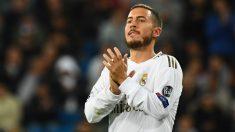 Hazard, durante un partido. (AFP)