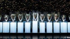 Sala de trofeos del Real Madrid (Realmadrid,com).