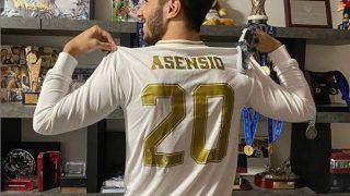 Asensio celebra su victoria en el torneo benéfico LaLiga Santander Challenger (Instagram).