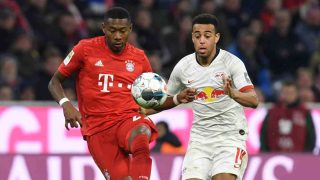 David Alaba con el Bayern de Múnich. (AFP)