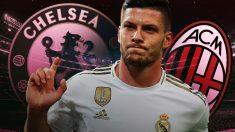 Jovic tiene muchas novias en Europa, entre ellas Chelsea y Milán.