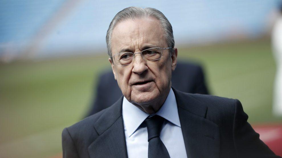 Florentino Pérez. (Getty)