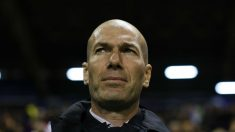 Zinedine Zidane, durante un encuentro. (Getty)