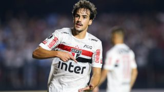 Igor Gomes, en un partido con el Sao Paulo. (Getty)