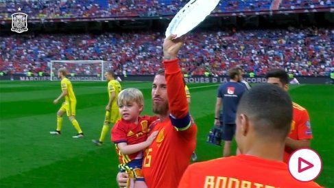 La RFEF felicita a Sergio Ramos por su cumpleaños.
