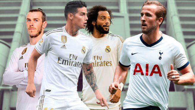 El Real Madrid ofrecerá a James, Bale y Marcelo en la Operación Kane