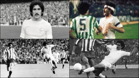 Goyo Benito, legendario central del Real Madrid.